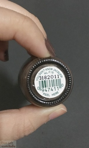 OPI Miss Left 03