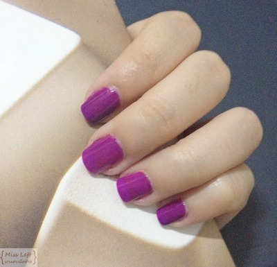 Miss Left Etude Purple