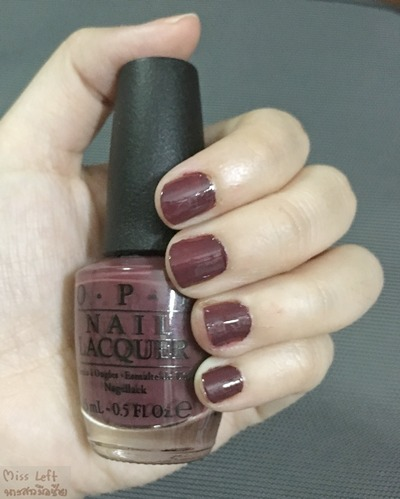 OPI Miss Left 05