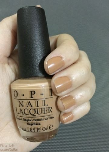 OPI Miss Left 07