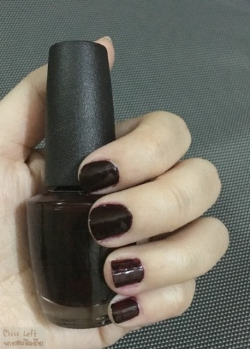 OPI Miss Left 10