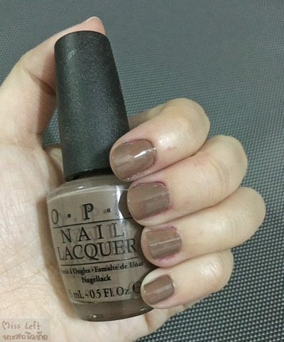OPI Miss Left 12