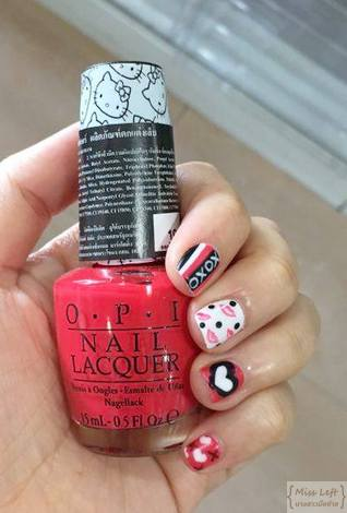 Miss Left OPI Kitty 14