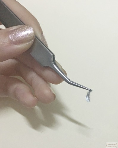 Miss Left Feather Nail Etude 05