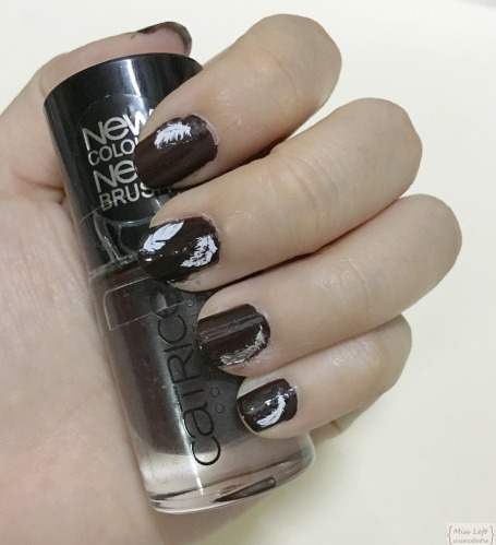 Miss Left Feather Nail Etude Catrice