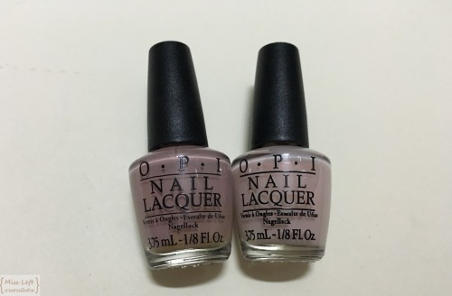 OPI Miss Left