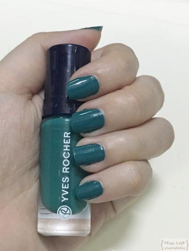 Miss Left Pantone 2013 Emerald