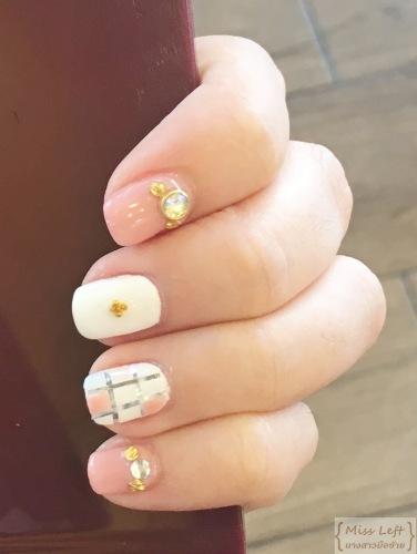 Gel Nail Acrylic Nail Miss Left นางสาวมือซ้าย