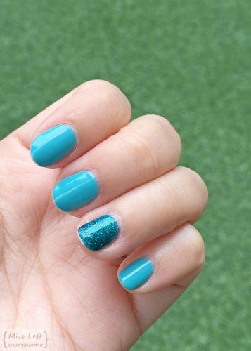 Turquoise Nail ร้านทำเล็บ สุขุมวิท นางสาวมือซ้าย
