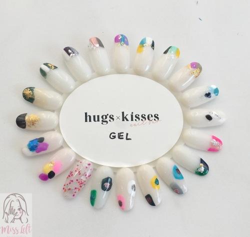 Hugs X Kisses ตรุษจีน ทำเล็บ นางสาวมือซ้าย