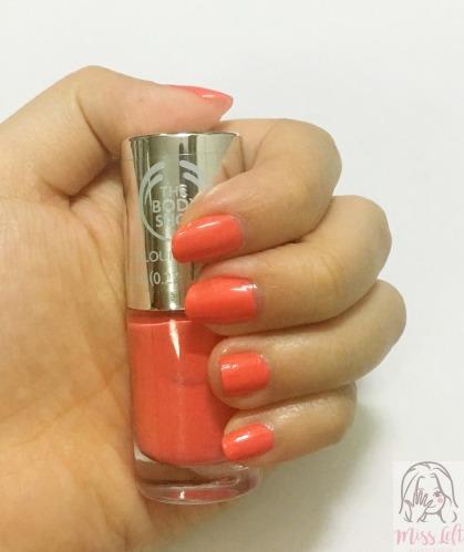 ทำเล็บป๊อปสีชมพู Pink Pop Nail นางสาวมือซ้าย รีวิว