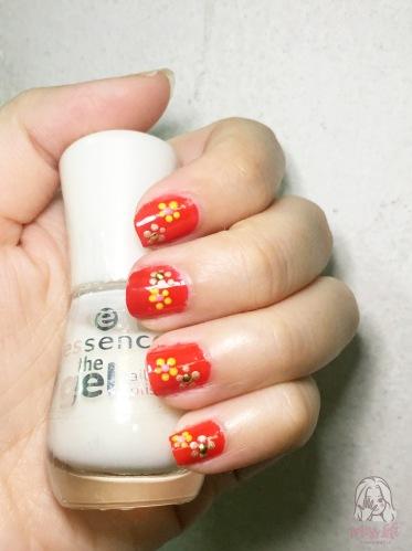 ทำเล็บ ตรุษจีน นางสาวมือซ้าย