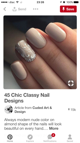 Pinterest Wedding Nail
