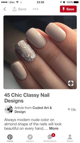 Pinterest Wedding Nail