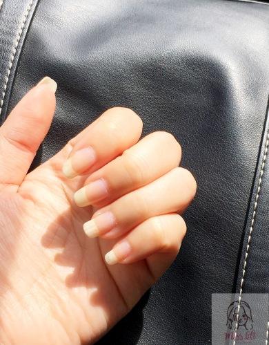 รีวิว ทำเล็บ November Nail Studio มือซ้าย