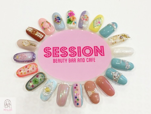 Session Beauty รีวิว ทำเล็บ มือซ้าย