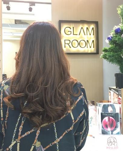 Glamroom รีวิว เล็บเจล ยูนิลีเวอร์ มือซ้าย